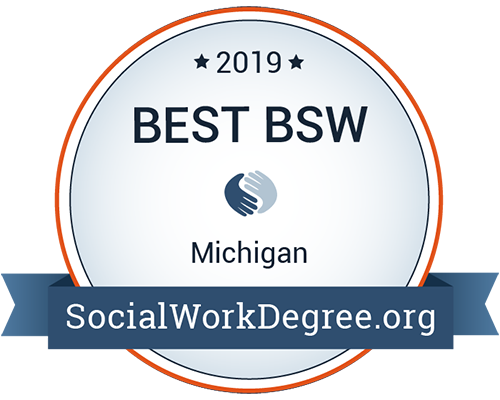 Best Social Work Degree badge