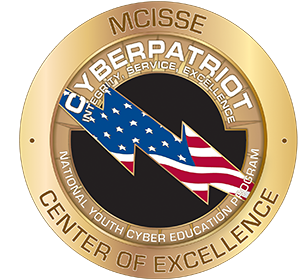 CyberPatriot Center of Excellence seal