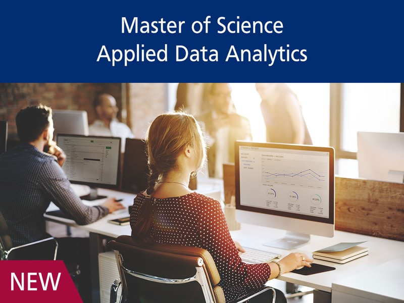New Program - Master of Science in Applied Data Analytics
